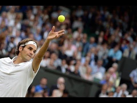2014 Day 6 Highlights, Roger Federer vs Santiago Giraldo, Third Round