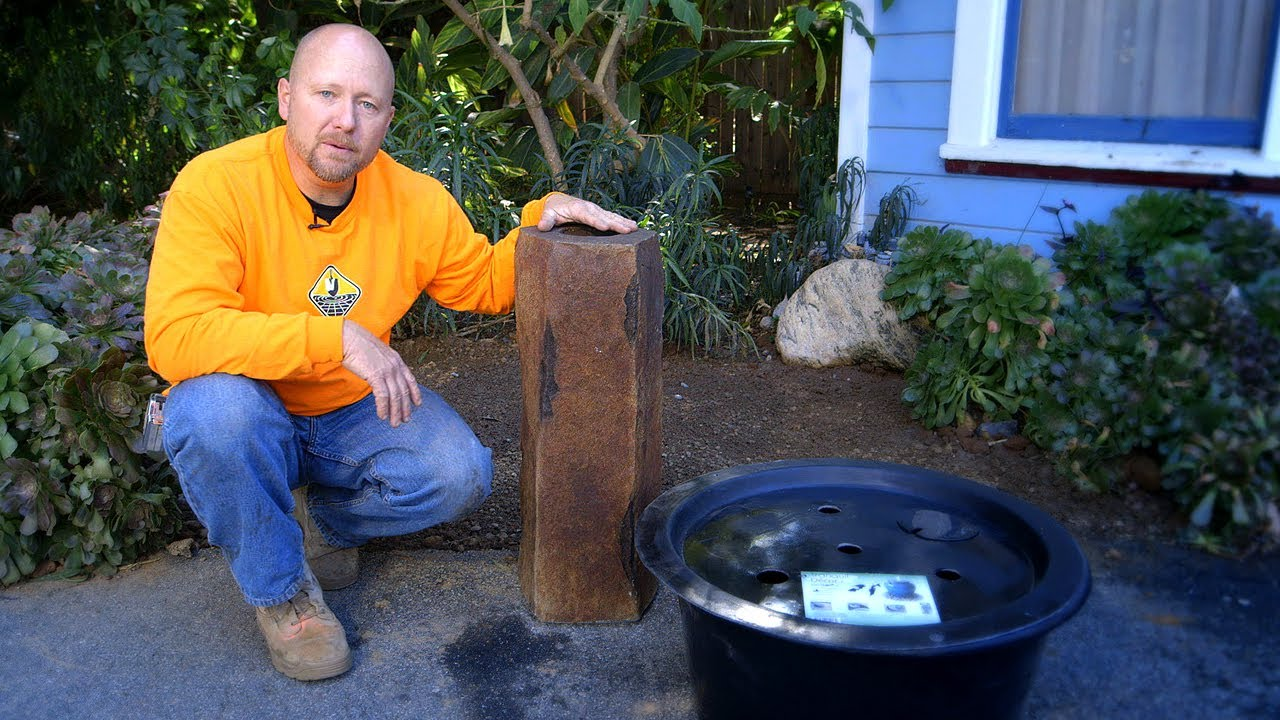 Outdoor Water Fountain Bird Baths Fountains DIY 1 of 4 YouTube