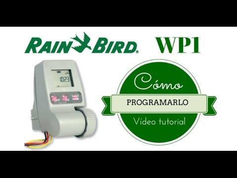 RAIN BIRD WP1, CÓMO PROGRAMARLO. (PROGRAMADOR DE RIEGO A PILAS).