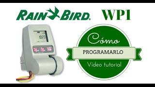 RAIN BIRD WP1, CÓMO PROGRAMARLO. (PROGRAMADOR DE RIEGO A PILAS). Mp3
