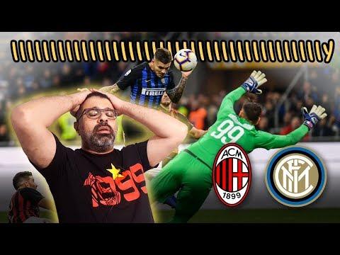 رد فعل وتعليق مباشر على أحداث مباراة ميلان والإنتر | ٢١ أكتوبر ٢٠١٨ | كلام قهاوي