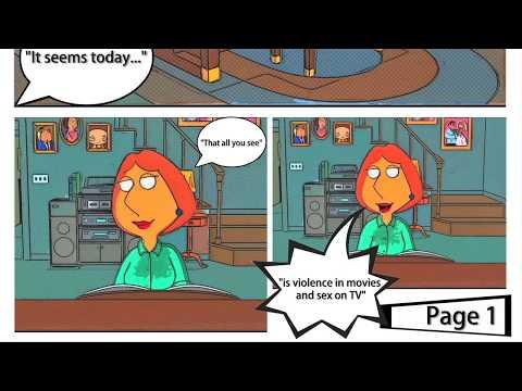 Family Guy Intro - COMIC BOOK VERSION