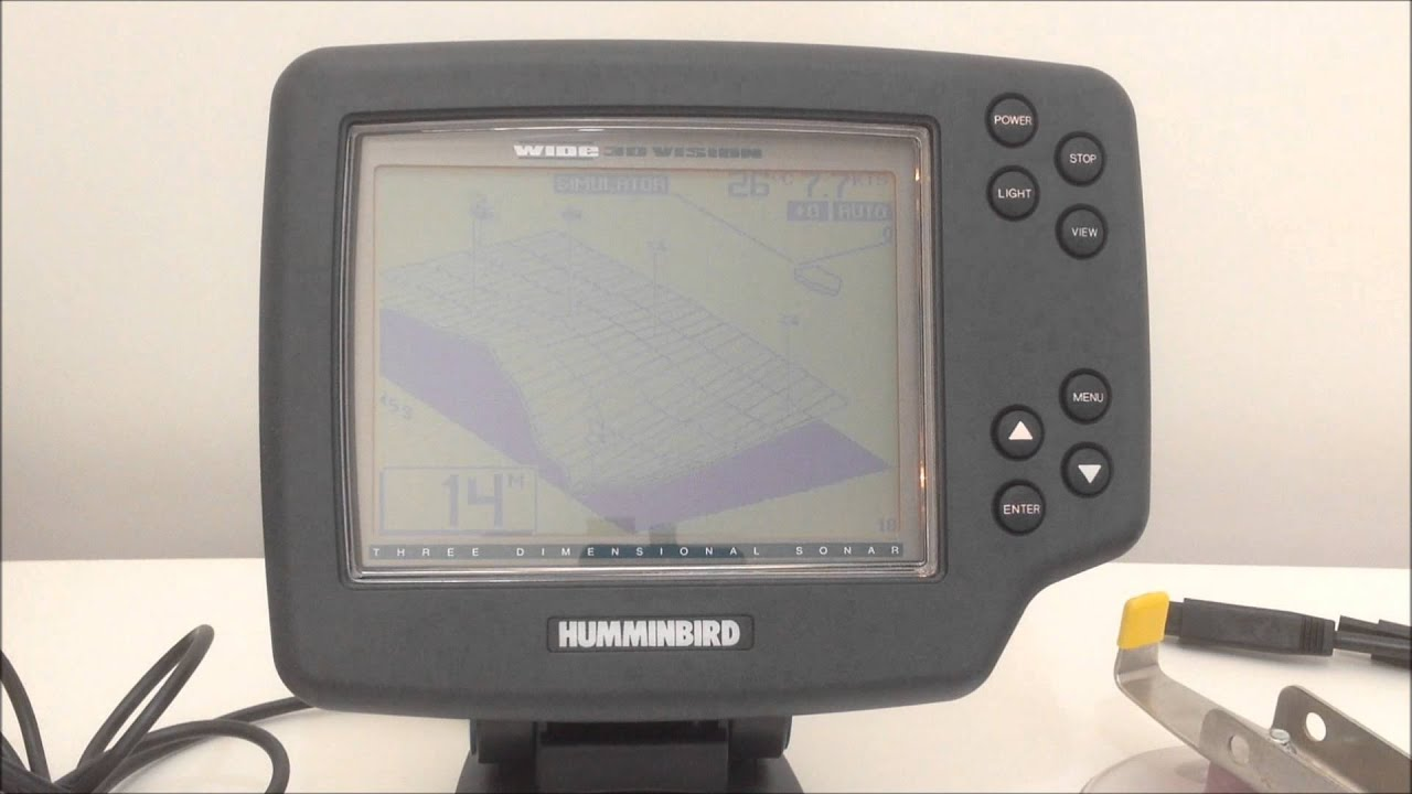 buy sonar humminbird wide 3d vision used - sold out! - youtube, Fish Finder