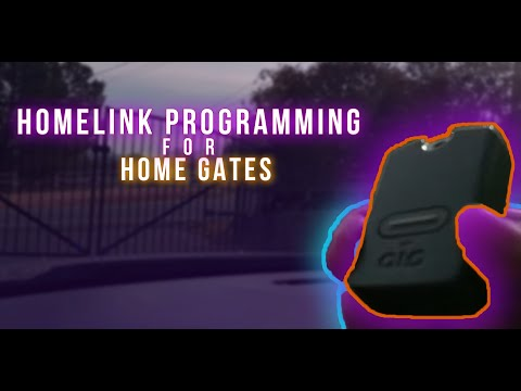 ▶️Home Gate, How to Program Home Gate to HomeLink In Your Car ▶️Mighty Mule GTO