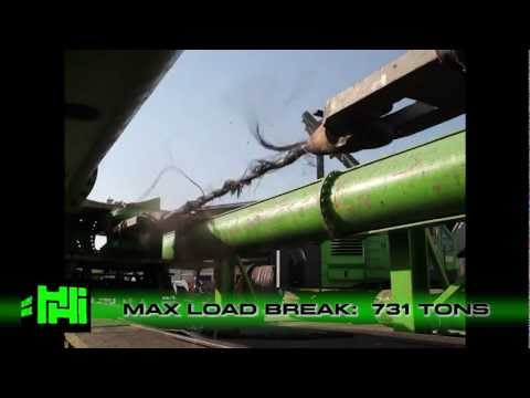 Break Test - Max Load  731 Tons