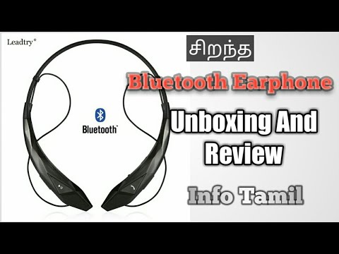 792b9a3620f Bytech Active Wireless Bluetooth Stereo Earphones Unboxing And ...