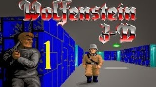 Let's Play - Wolfenstein 3D (100% ALL) - 1