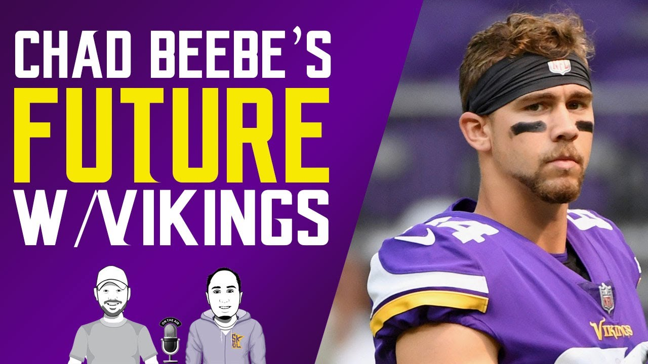 Vikings' Chad Beebe: Stays in slot role