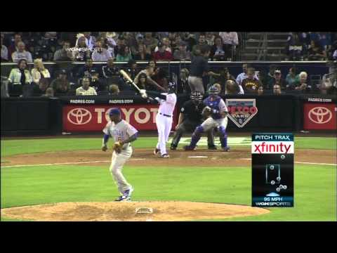 2011/09/26 Dolis' first career strikeout