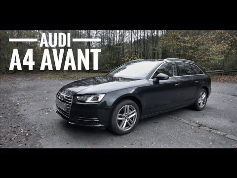 2018 audi a4 avant b9 exterior interior walkaround youtube. Black Bedroom Furniture Sets. Home Design Ideas