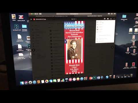 How To Send Banners Via Email: Veteran Banner Project