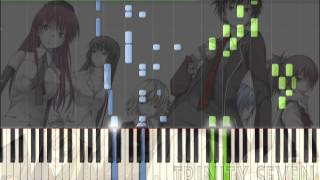 [Trinity Seven] OP Seven Doors Piano Synthesia Tutorial mp3