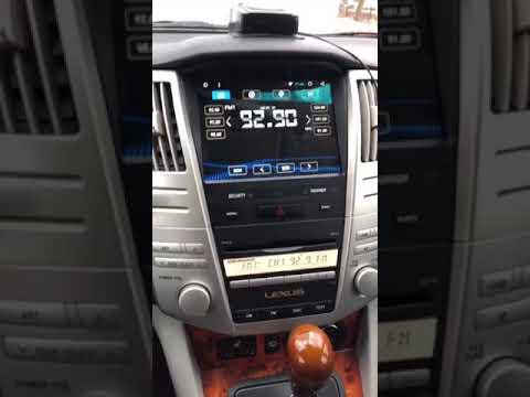 Обзор Android магнитолы Lexus RX (300-330-350) 2003-2009 год