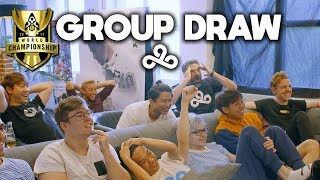 Cloud9's LIVE REACTIONS to the Worlds 2019 Group Draw