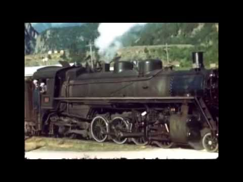 PGE train ride from Quesnel to Squamish in about 1947