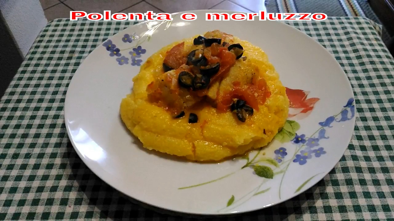Come cucinare il merluzzo con la polenta ricetta facile for Cucinare qualcosa di veloce