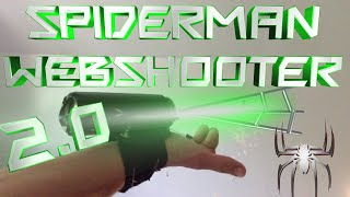 How to Make a Spiderman Wrist Web Shooter 2.0