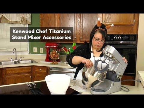 Kenwood Chef Titanium Stand Mixer Attachments ~ Thanksgiving Turkey ~ What's Up Wednesday!