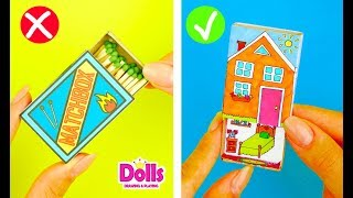 SIMPLE MATCHBOX CRAFTS IDEAS DIY HANDMADE TOYS FOR KIDS MEDICAL KIT