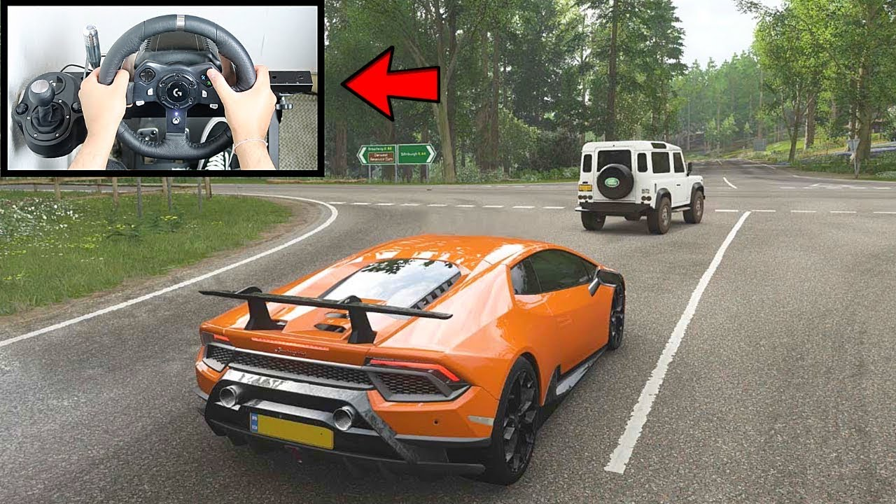 Forza Horizon 4 Lamborghini Huracan Performante (Logitech G920 Steering Wheel) Gameplay