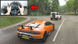 Download Forza Horizon 4 Lamborghini Huracan Performante (Logitech G920 Steering Wheel) Gameplay Mp3 and Videos