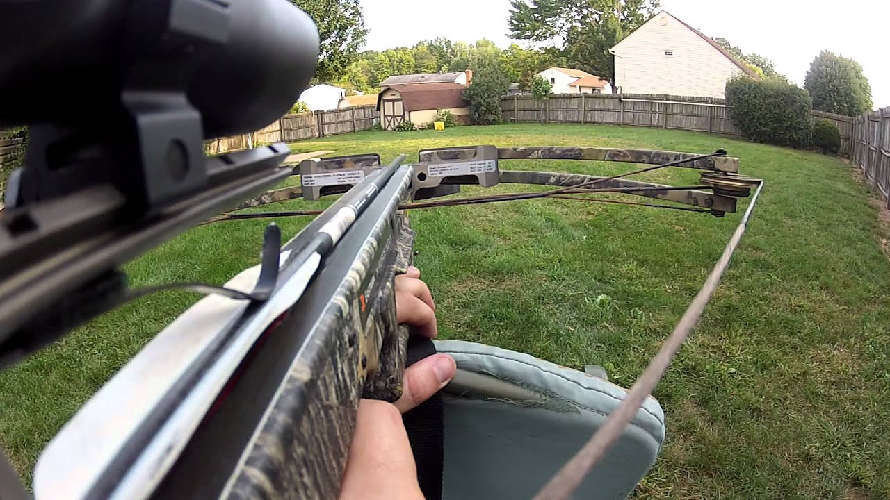 Video Camera Stabilizer >> GoPro Crossbow test - YouTube
