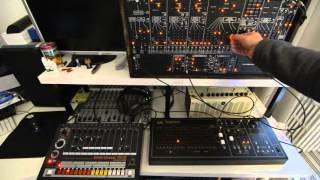 1 testing the arp 1601 sequencer