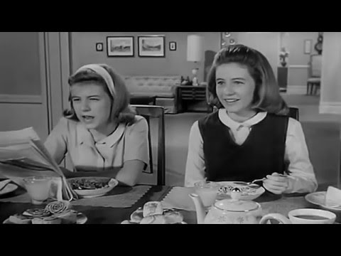 The Patty Duke Show 1963 - 1966 Opening and Closing Theme (With Snippet) Remastered