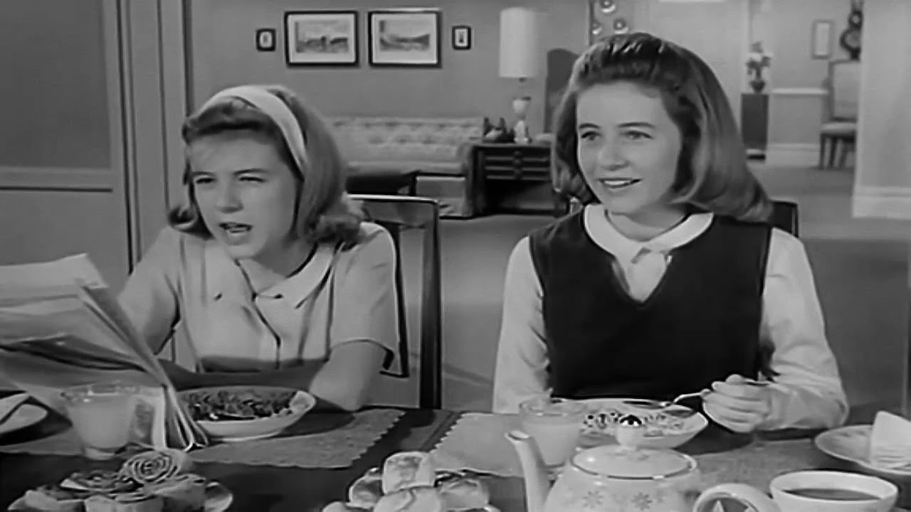 The Patty Duke Show 1963 1966 Opening And Closing Theme With Snippet Remastered Youtube