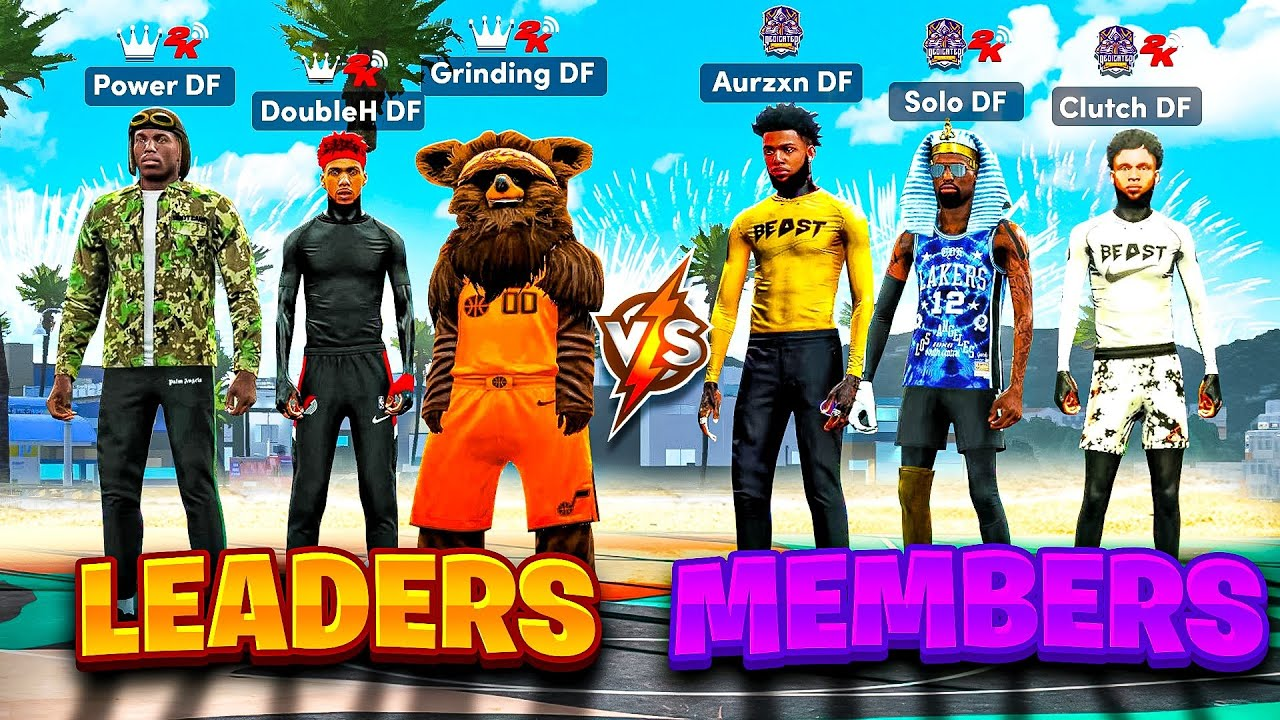 LAST DF MEMBER TO WIN GETS KICKED FROM THE CLAN! *NEW* DF Leaders vs DF Members ROYALE EVENT nba2k21