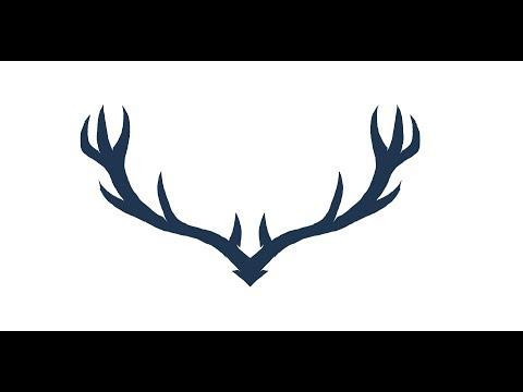 Deer Horns Logo I Logo sketching Speed Art I Sketching Tutorial thumbnail