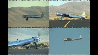 Jim Wright 'Hughes H-1 Racer' replica speed record attempt