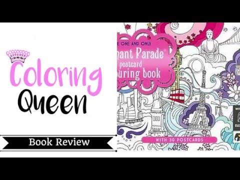 elephant-parade-postcard-colouring-book-review