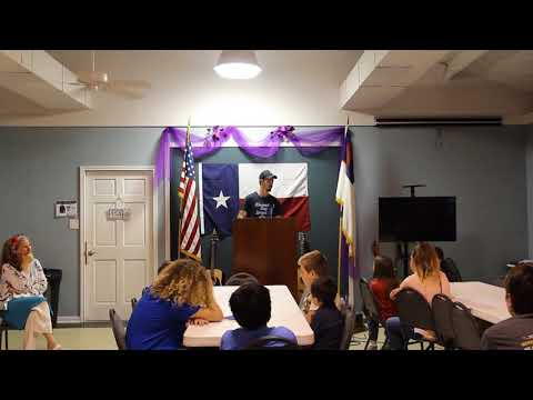 Wearp Family @ Canton Christian Academy 5-3-18 Blessed Buy Israel 1