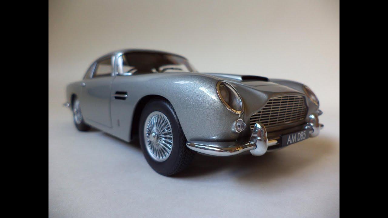 aston martin db5 [autoart model] - youtube