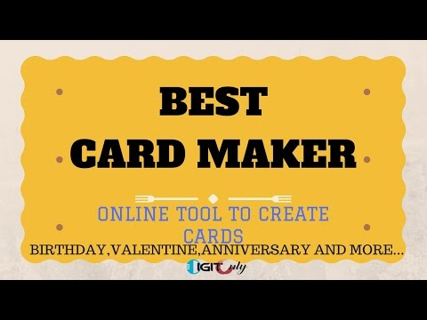 How to make birthday card online free | Best online card maker