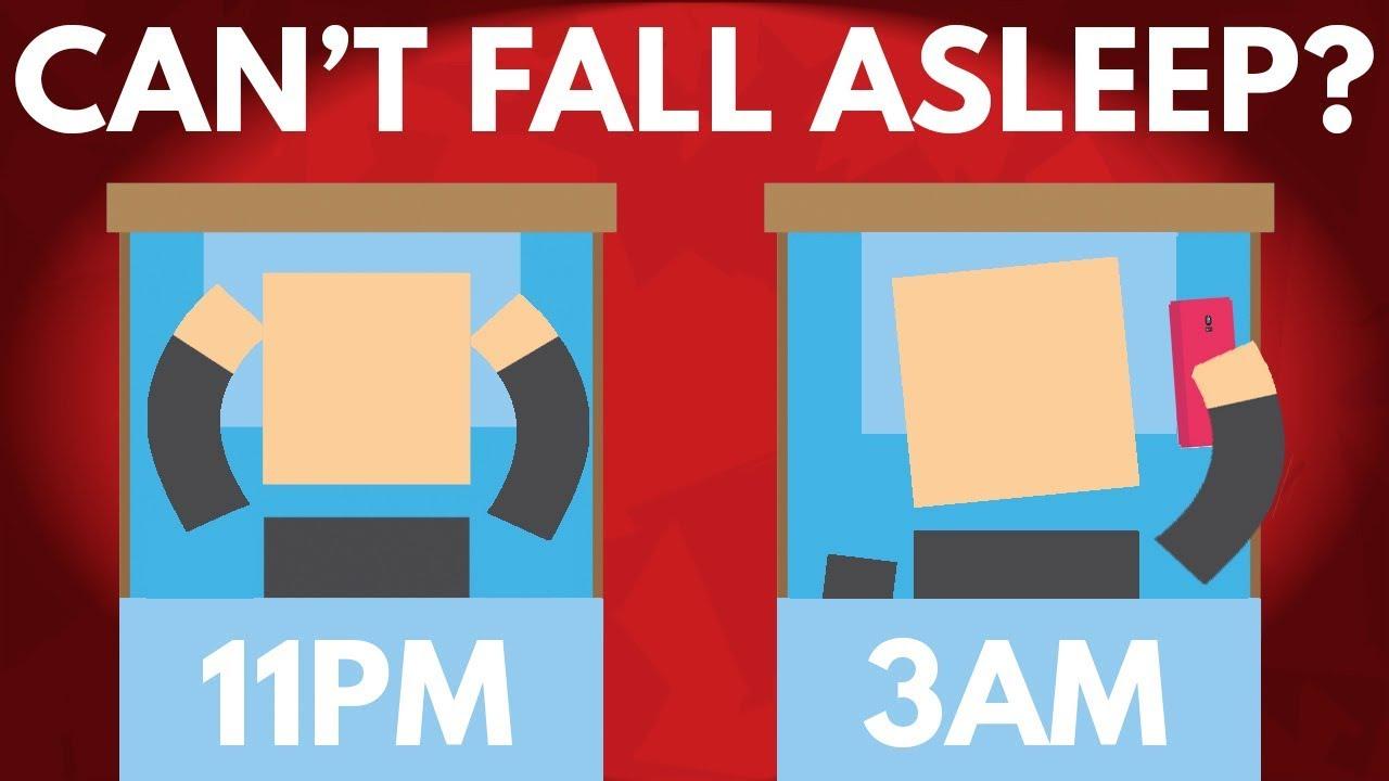 Зошто понекогаш ви е тешко да заспиете?