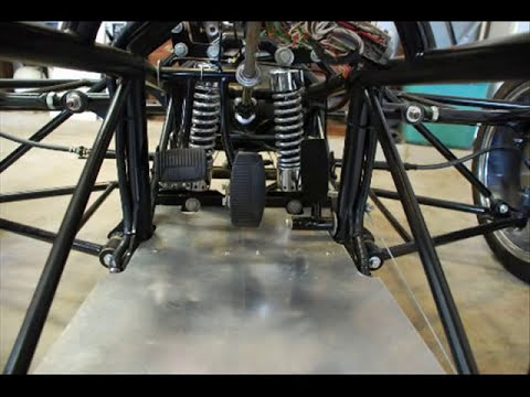 raptor reverse trike frame construction
