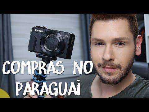COMPRAS NO PARAGUAI | Canon G7X, Duty Free... | Estilo Bifásico