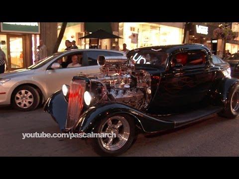 F1 Canada Grand Prix 2014: Super cars rally down Montreal streets