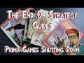 The End Of Strategy Guides - Prima Games Shutting Down!