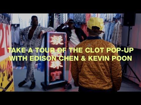 Edison Chen & Kevin Poon Walk Us Through the CLOT Pop-Up in Paris