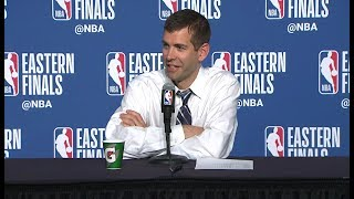 Brad Stevens Postgame Interview - Game 6 | Cavaliers vs Celtics | 2018 NBA East Finals