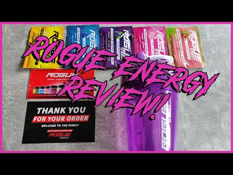 ROGUE ENERGY REVIEW! - Andro's Energy Drink Chronicles