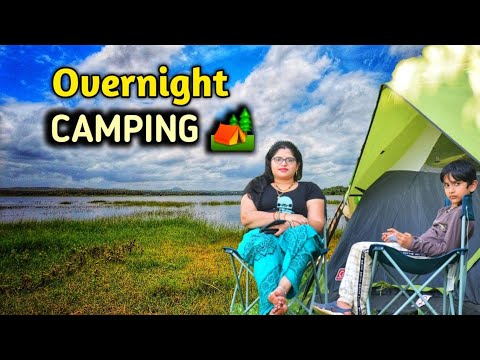 Safe Family CAMPING LOCATION near BENGALURU   CAMPING IN INDIA in HEAVY RAIN
