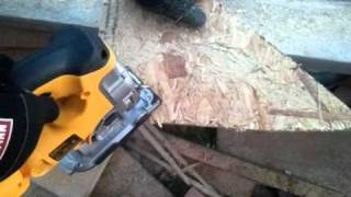 Dewalt Cordless Circular Saw And Jig Saw.