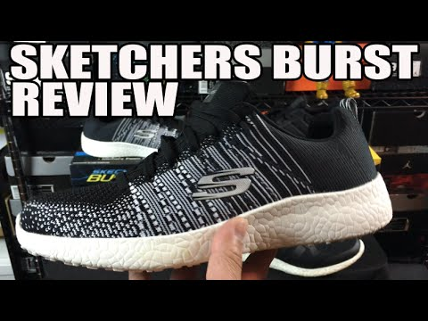 'most-comfortable-shoes-in-the-world'?-skechers-burst-honest-review-w/-on-feet