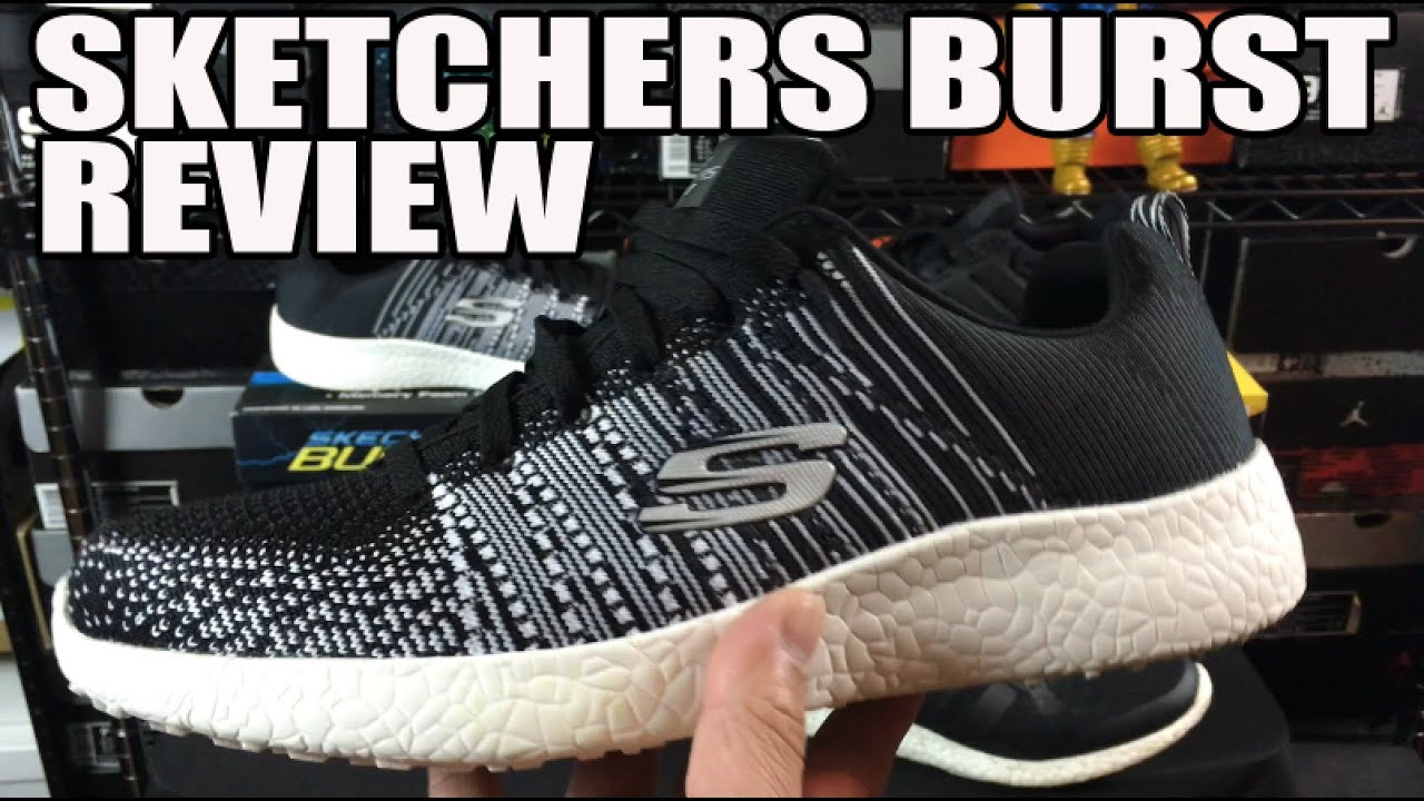 ef333d56bb989  Most Comfortable Shoes In The World   Skechers Burst Honest Review w  On  Feet