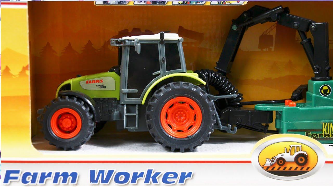 Трактор DICKIE