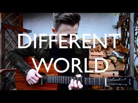 (Alan Walker) Different World Ft. Sofia Carson, K-391 & CORSAK - Fingerstyle Guitar Cover